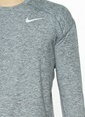 Nike Spor Sweatshirt Gri